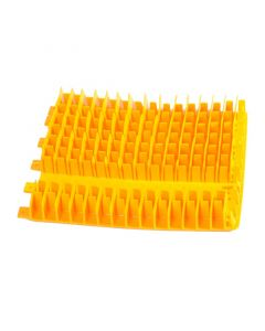 Cepillo combinado amarillo PVC Dolphin 1 mitad sin anillo 6101645