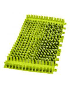 Cepillo combinado PVC Dolphin verde sin anillo 6101663