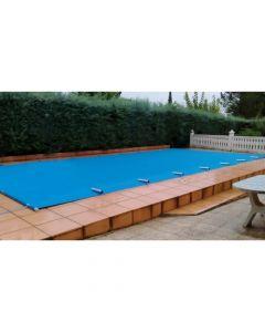 Cobertor de Protección PVC con Barras Ancho 3.50 m