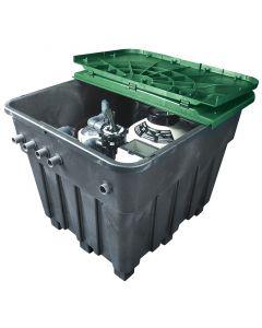 AstralPool compacto enterrado Keops con filtro y bomba