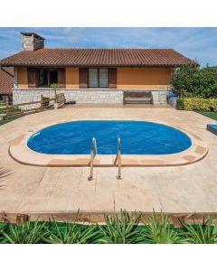 Cubierta Isotérmica para piscina enterrada ovalada Gre