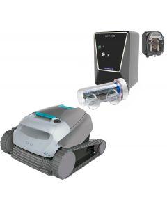 Limpiafondos Dolphin SX 10 + Clorador Salino Advance y Bomba de pH