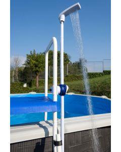 Ducha piscina con fijación a la escalera Gre DPE10