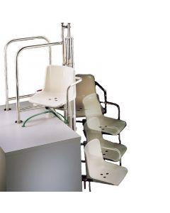 Elevador hidráulico AstralPool de acceso a piscina