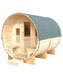 Sauna de vapor exterior Holls Gaïa Luna