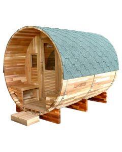 Sauna de vapor exterior Holls Gaïa Rossa