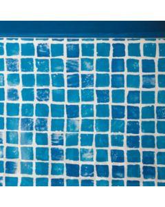 Liner Gresite piscina Gre redonda Sistema Colgante Altura 132