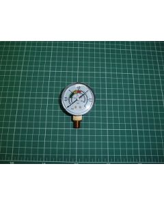 """Manómetro 1/8"""" 3 kg/cm filtro Florida AstralPool CE11020407"""