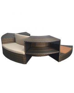 Kit de mobiliario de 5 módulos para spa NetSpa Vita