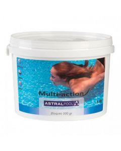 AstralPool Bloque Multi-action en compactos de 500gr