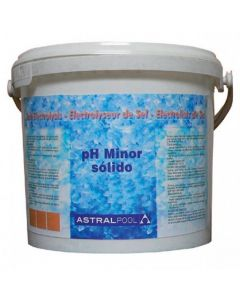 AstralPool pH Minor sólido para electrólisis de sal