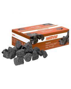 Piedras para sauna Harvia 20 kg - Tamaño Ø 5-10 cm