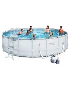 Piscina Tubular Redonda Bestway Power Steel