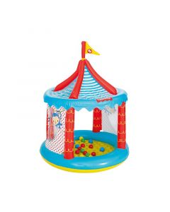 Piscina de Bolas Hinchable Bestway Fisher Price Circo