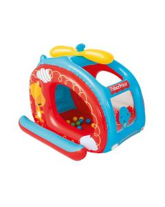 Piscina de Bolas Hinchable Bestway Fisher Price Helicóptero