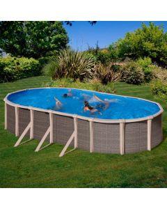 Piscina desmontable ovalada Gre Fusion Pool