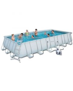 Piscina Tubular Rectangular Power Steel Bestway