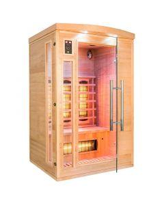 Sauna infrarrojos Apollon Quartz 2 personas France Sauna