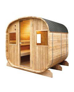 Sauna vapor Barrel 6 personas Holl´s