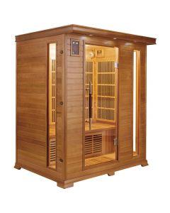 Sauna infrarrojos Luxe 3 personas France Sauna