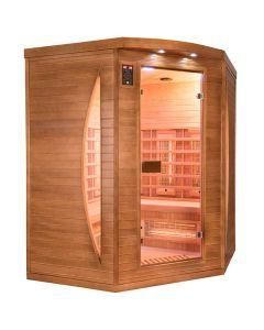 Sauna infrarrojos Spectra 3 personas Rinconera France Sauna