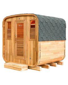 Sauna de vapor tradicional exterior Holls Gaïa Nova