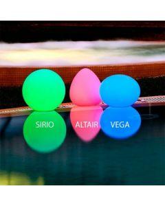 Lámpara flotante led piscina StarLight Sirio