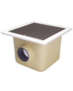 Sumidero de poliéster y fibra de vidrio 515x515 piscina hormigón AstralPool