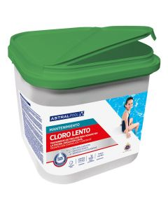 Cloro lento AstralPool sin bórico tabletas 250g