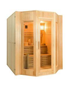 Sauna de Vapor tradicional Zen 4 personas France Sauna