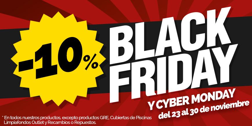 Promoción Black Friday & CiberMonday