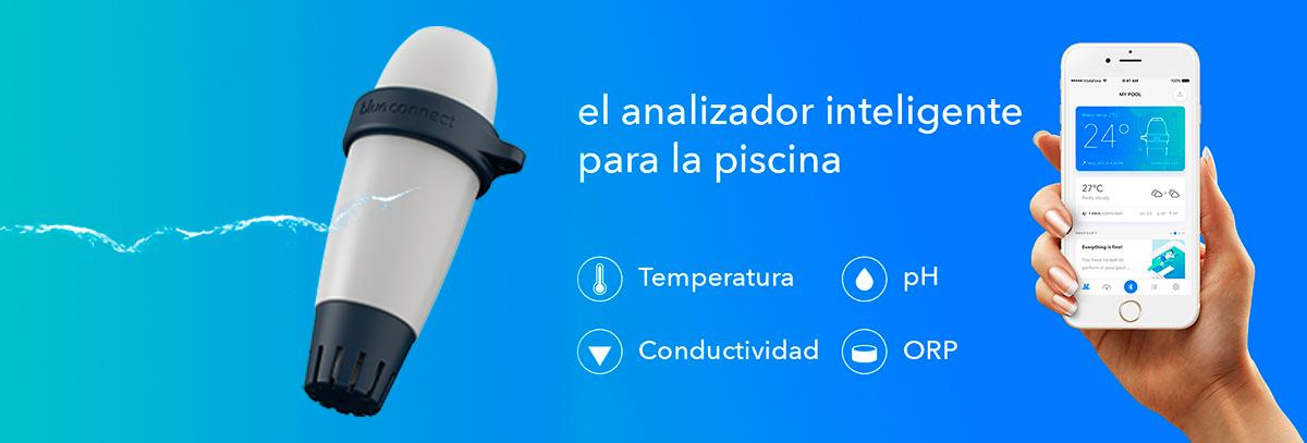 Analizador de Piscinas Blue Connect