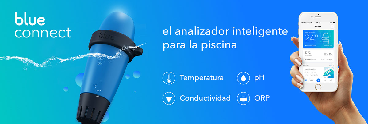Analizador inteligente de Piscinas Blue Connect