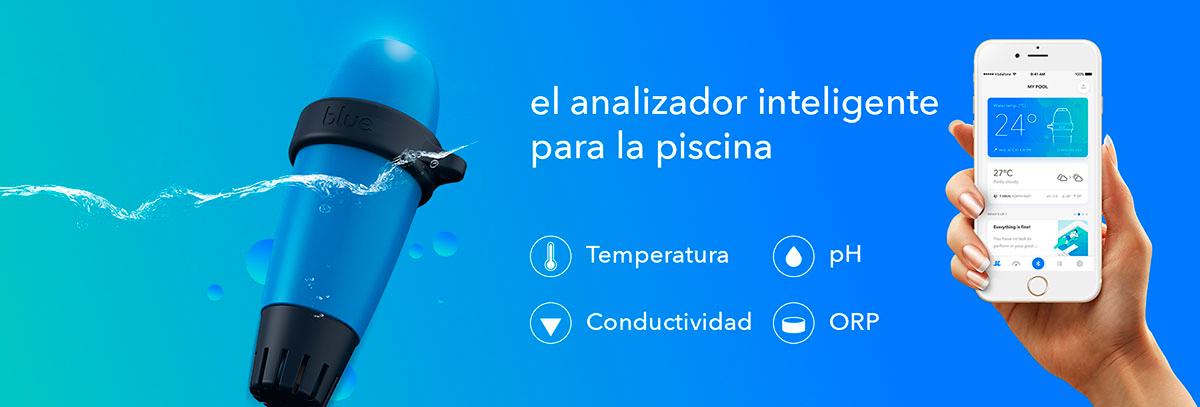 Analizador de Piscinas Blue Connect