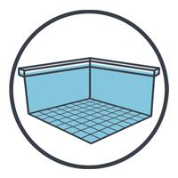 Fondo, paredes y Línea de Flotación