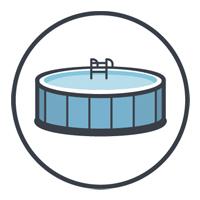 Especialmente diseñados para piscinas elevadas