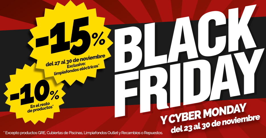 Promoción Black Friday & CiberMonday