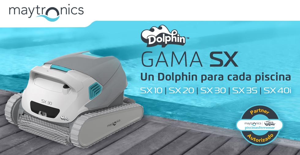Nueva Gama Dolphin SX de limpiafondos para piscinas