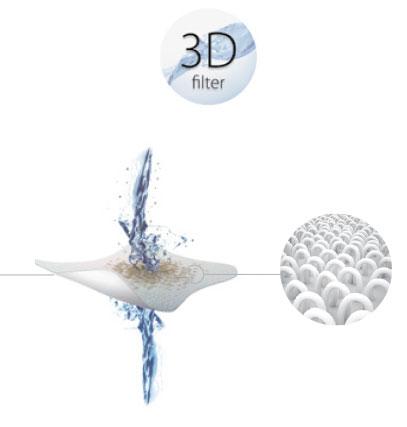 Filtro 3D top access limpiafondos astralpool m5