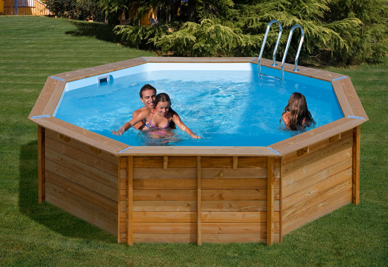 Piscinas desmontables gre piscinas enterradas o for Piscinas de madera